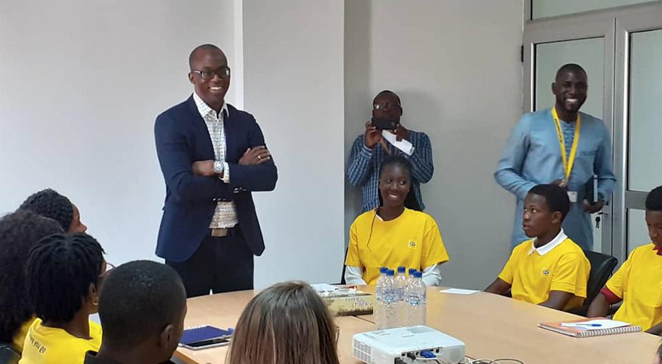 Visite MTN Guinée 18 Décembre 2019